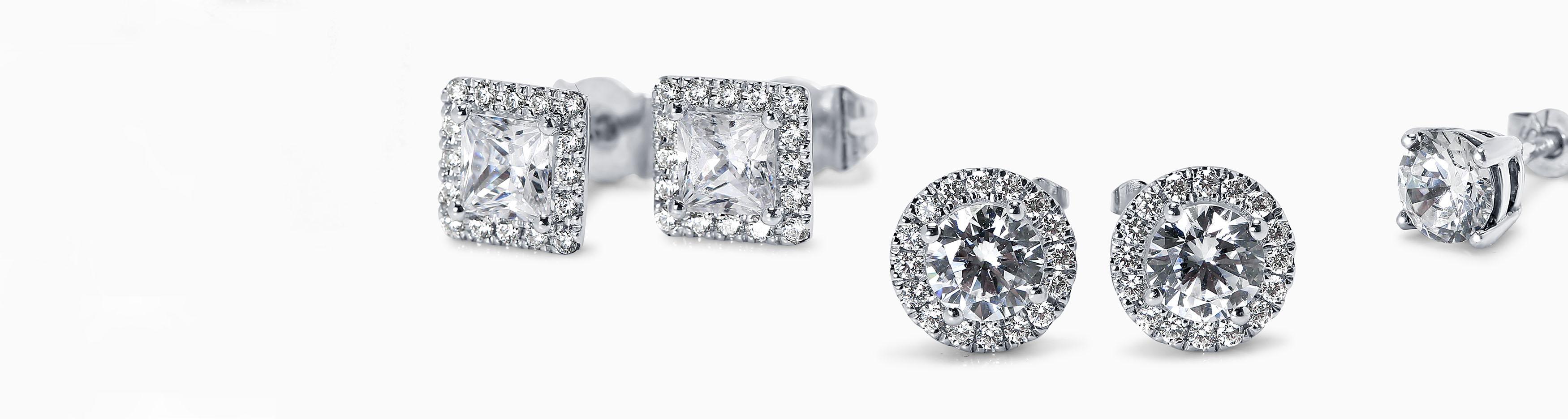1 Carat Diamond Earring Studs