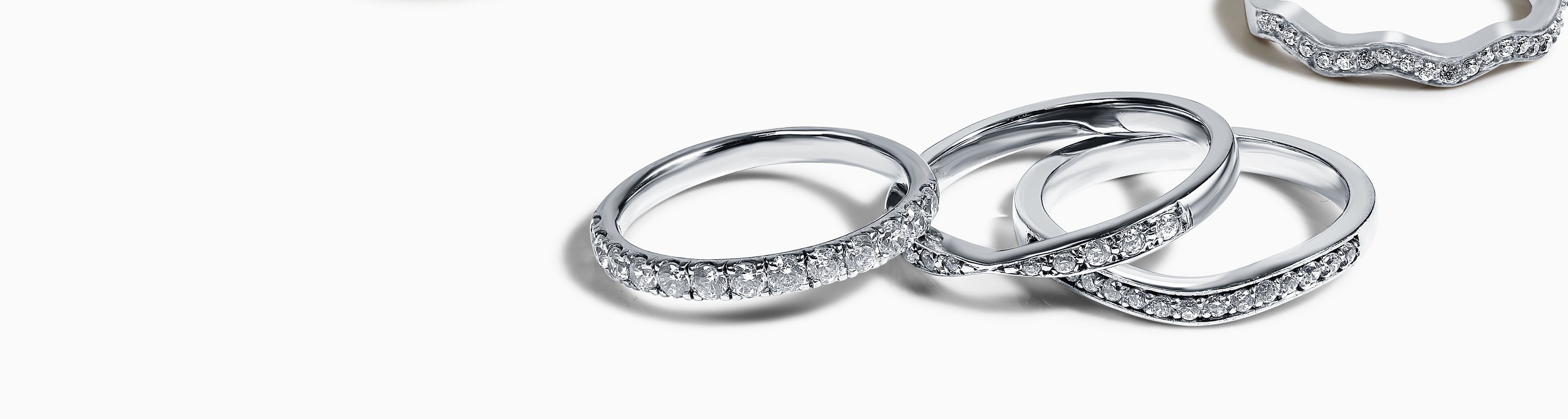 Baguette Diamond Wedding Bands
