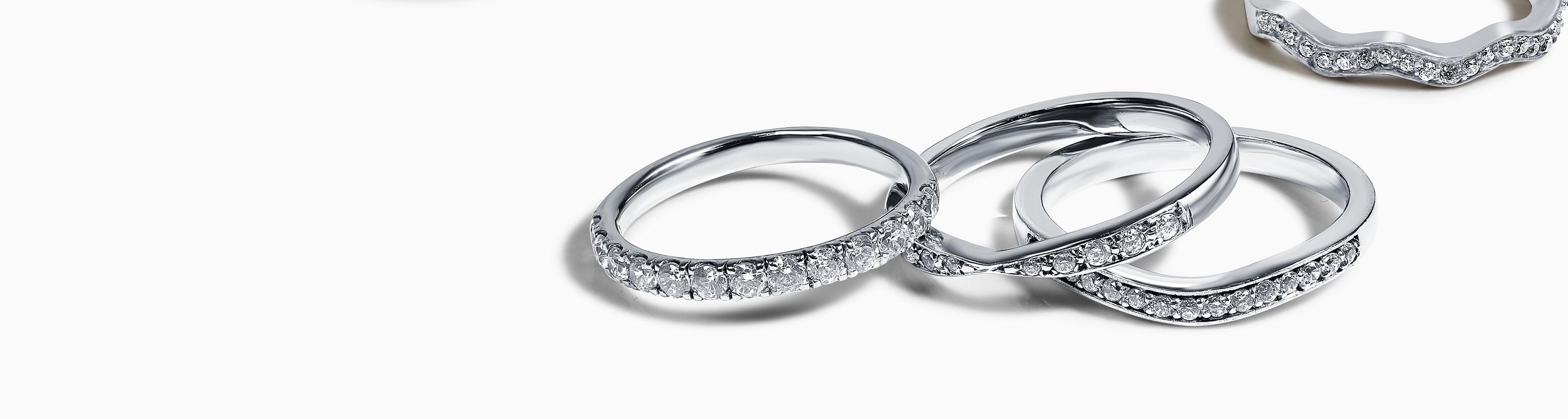 Platinum Diamond Wedding Rings