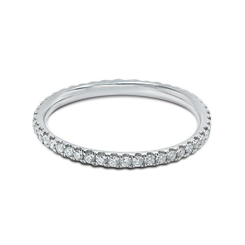 1.5mm Micro Setting Diamond Eternity Ring
