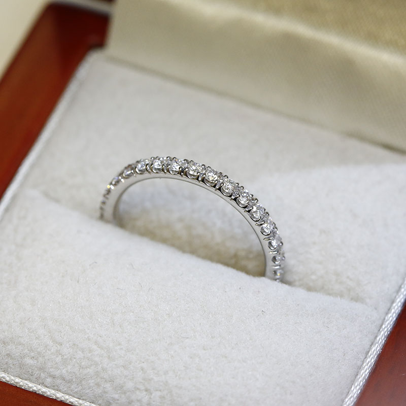 2.3mm Micro Setting Diamond Eternity Ring