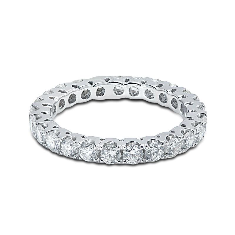 2.7mm Micro Setting Diamond Eternity Ring