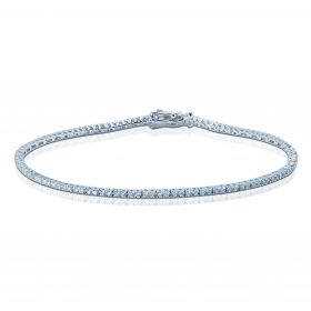 Half Carat Diamond Tennis Bracelet