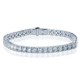 10 Carat Diamond Tennis Bracelet