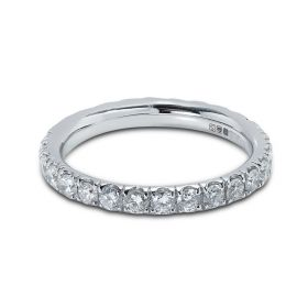 Diamond Eternity Ring Micro Set 2.5mm 1ct