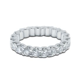 Diamond Eternity Ring Micro Set 3mm 2ct