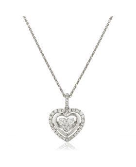 Infinity Diamond Necklace
