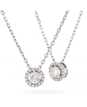 Infinity Diamond Necklace