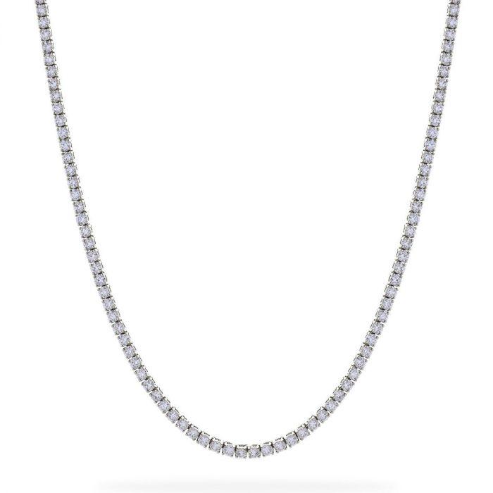 4ct Diamond Tennis Necklace
