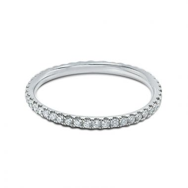1.5mm Clasic Diamond Eternity Ring Claw Setting