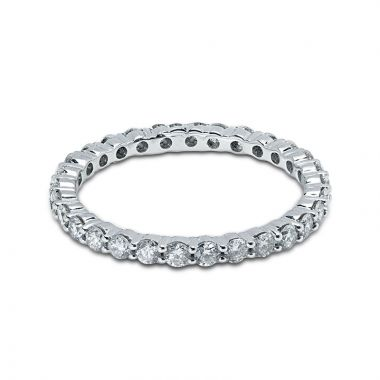 2mm Diamond Eternity Ring Claw Setting