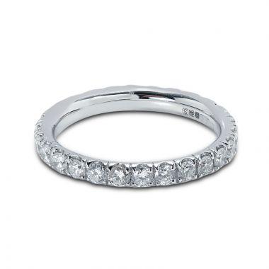 Diamond Eternity Ring Micro Set 2.5mm 1ct