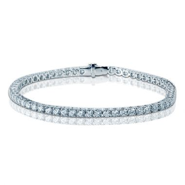 5 Carat Diamond Tennis Bracelet on a Wrist