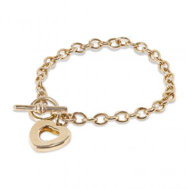 9ct Yellow Gold Charm Bracelet 12gm