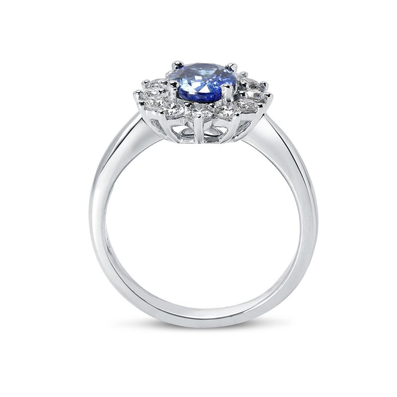 Kate Middleton Blue Sapphire Engagement Ring