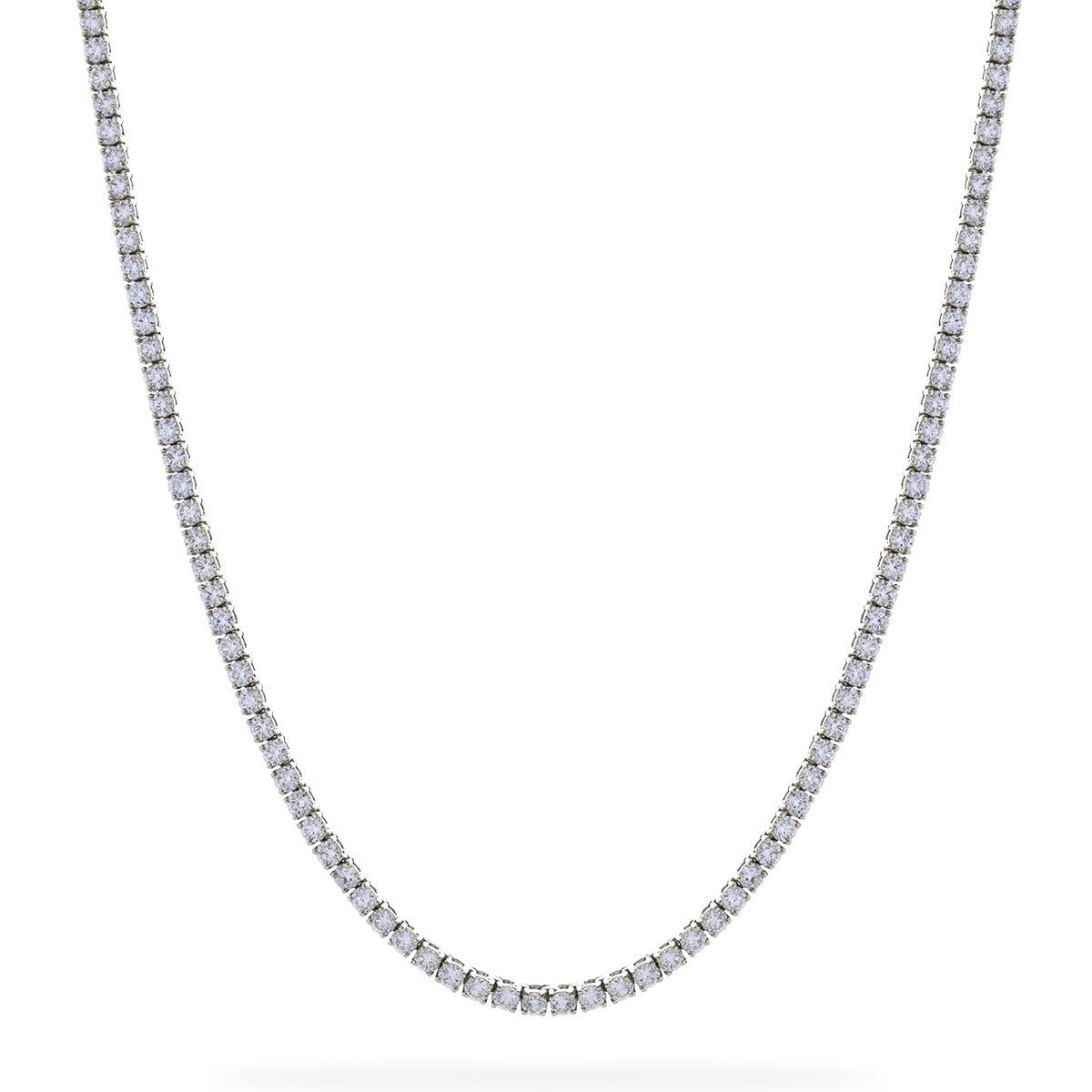 4ct Diamond Tennis Necklace