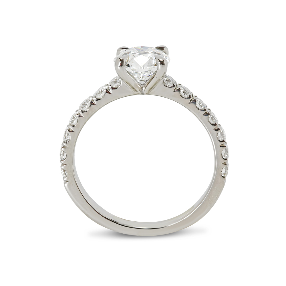 Contemporary Engagement Ring Solitaire
