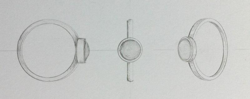 Bezel Diamond Ring Setting
