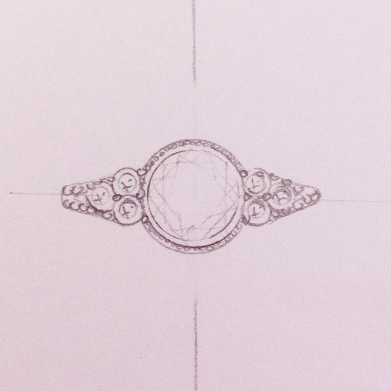 Antique Diamond Rings - Vintage Diamond Ring Setting